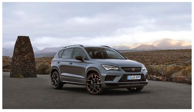 Ateca Limited Edition a SUV with 300 horsepower